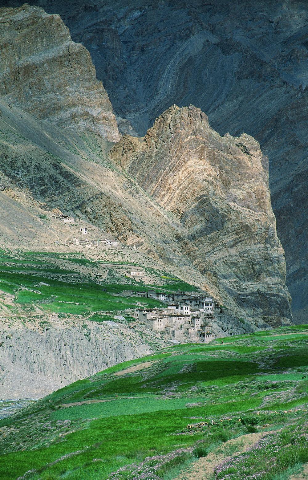Remote village, Ladakh, India