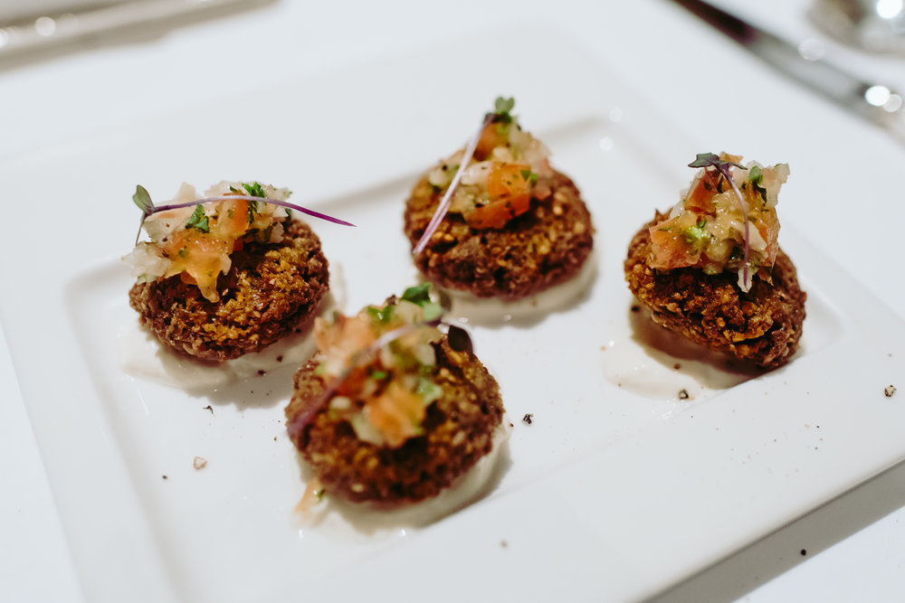 There's nothing like crunchy falafel when you're in the mood for a traditionally middle-eastern savory appetizer!
