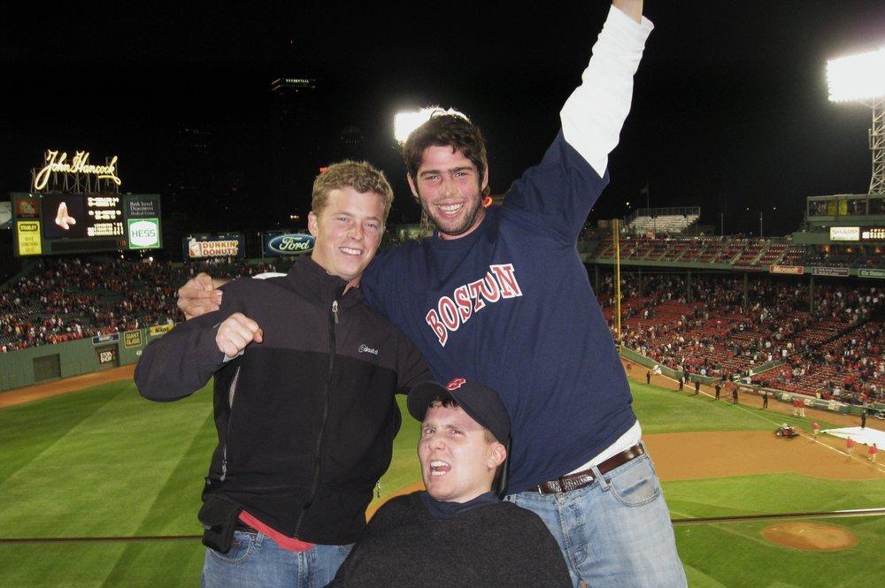 Ned - Sox Game.JPG
