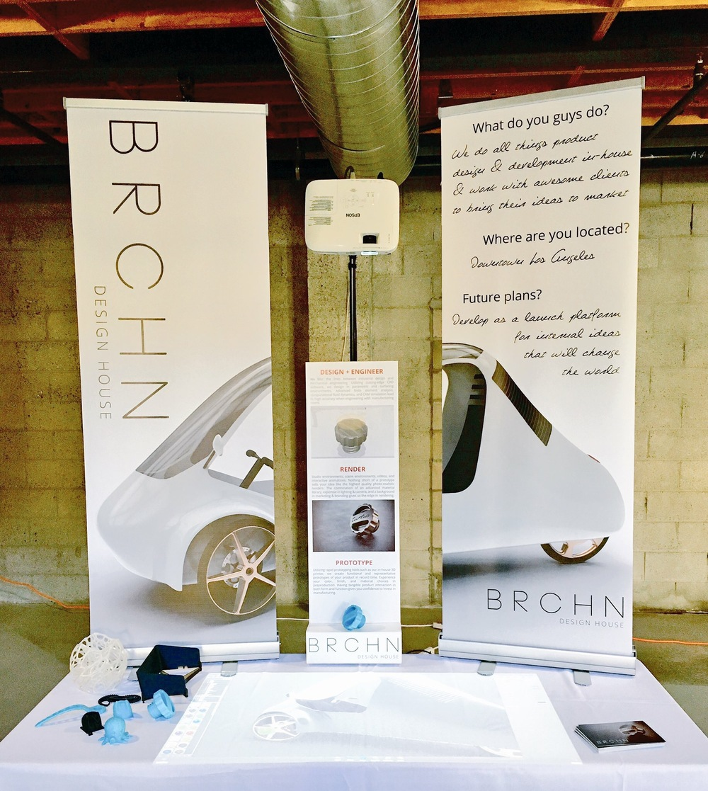 Our sustainability oriented booth.