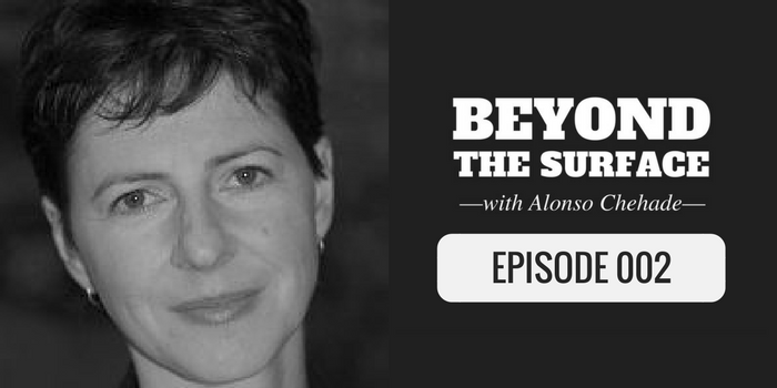 ilana guttmann on the beyond the surface podcast