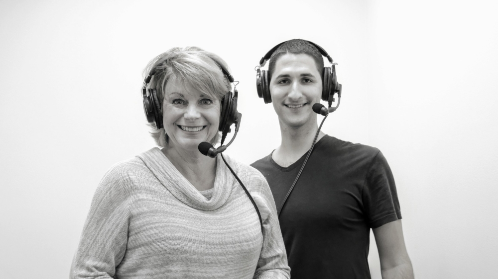 margo myers with alonso chehade on beyond the surface podcast.JPG