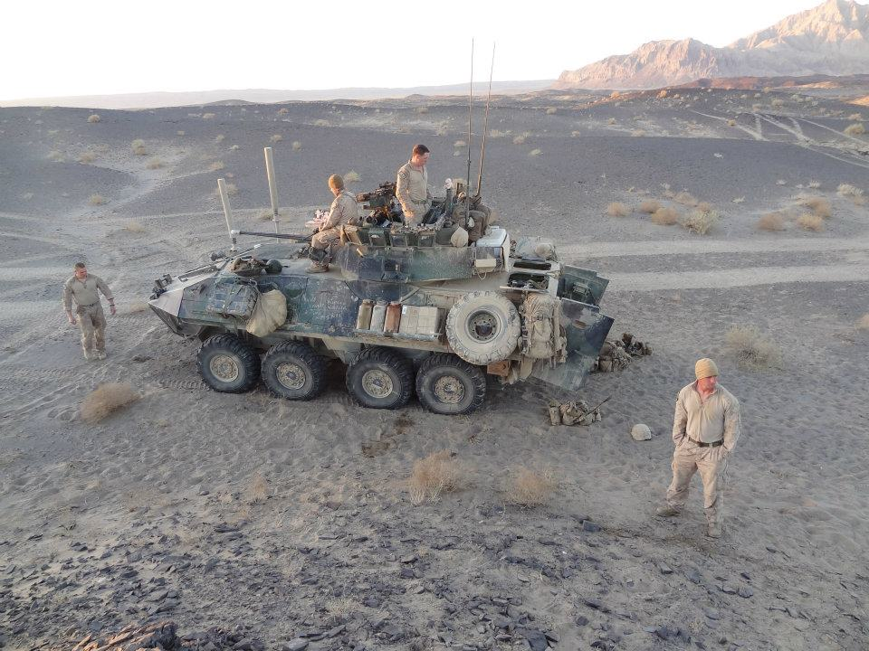 Peter Lucier spent a portion of his deployment patrolling near the border of Pakistan. Photo courtesy of Peter Lucier.