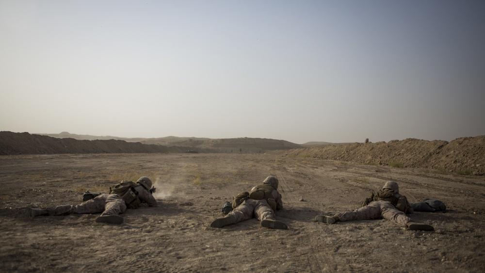 (U.S. Marine Corps photo by Pvt. Robert Bliss)