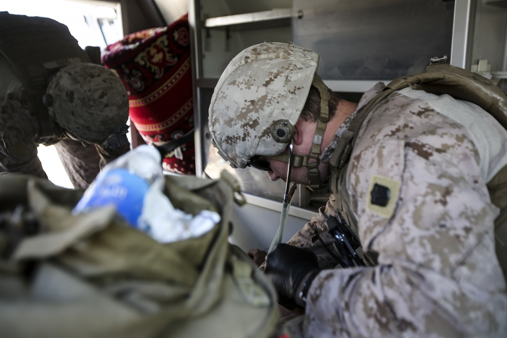 (U.S. Marine Corps photo by Sgt. Rick Hurtado)