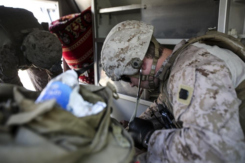 (U.S. Marine Corps photo by Sgt. Rick Hurtado)