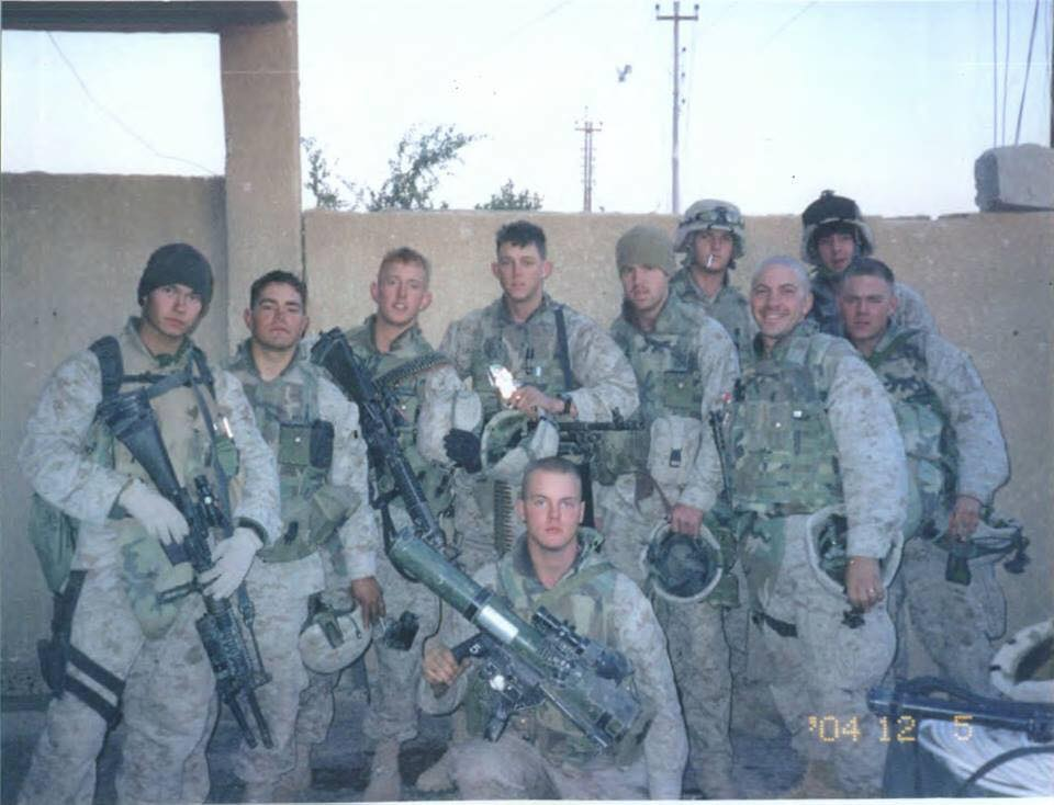 Thomas Brennan served in Iraq during Operation Phantom Fury with First Battalion, Eighth Marines as an assaultman. Photo courtesy of Thomas Brennan.