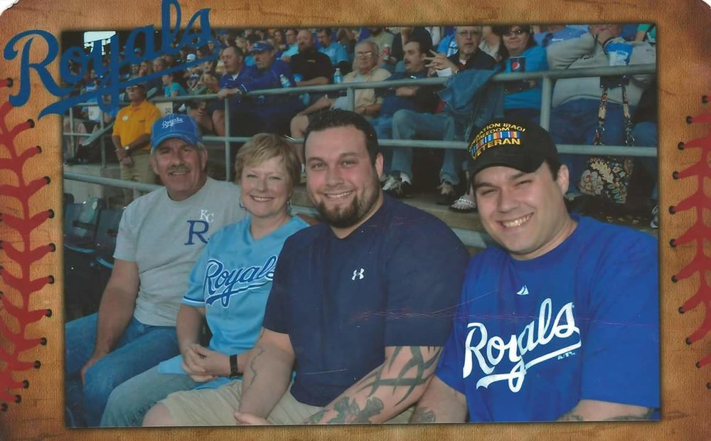 Gerardo Mena was honored by the Kansas City Royals as their Walk Off Hero during 2013. Photo courtesy of Gerardo Mena.