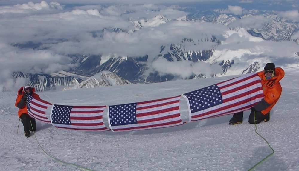 Josh and Margaux made it to Denali's summit on their second attempt. Courtesy: Margaux Mange