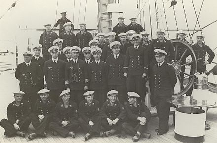 The Horst Wessel crew in 1937.