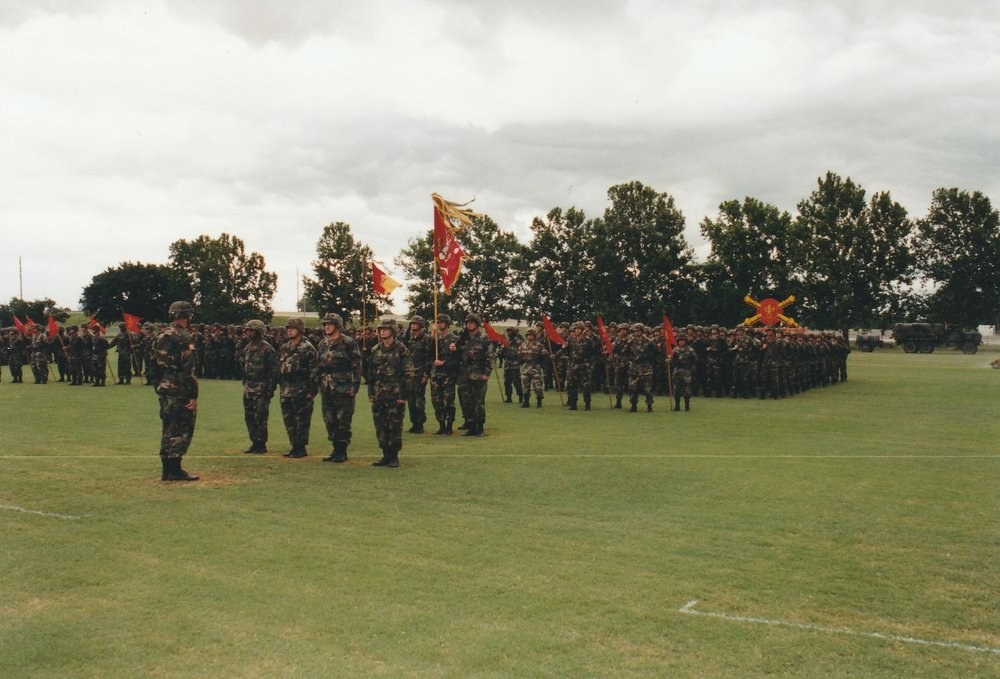 2-18FA Battalion Change of Command. Courtesy of John Sims