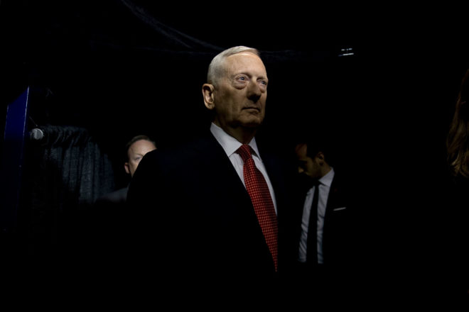 Marines United Secretary James Mattis