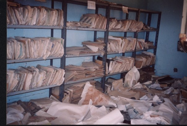More manuscripts abandoned by Iraqi government forces during a hasty retreat. Courtesy of Lyndsey Anderson