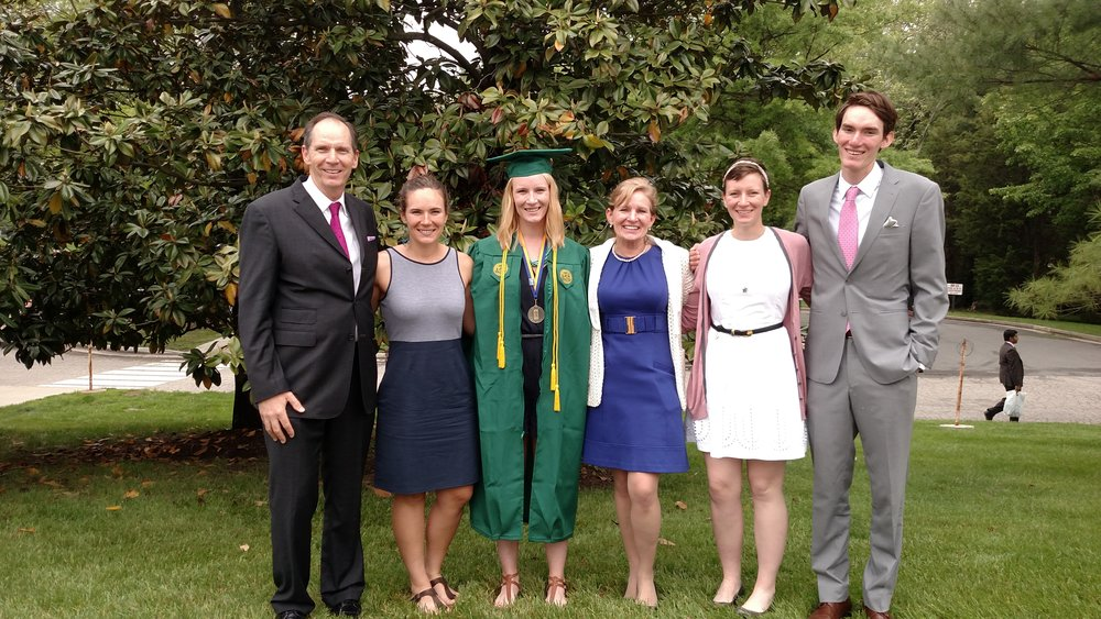 Marcella's Graduation from George Mason University in 2015. Courtesy of John Sims