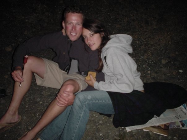 Liesel and her husband, Tom, on Memorial Day 2005. Courtesy of Liesel Kershul