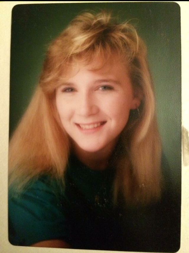 Joy Craig's high school photo. Courtesy of Joy Craig