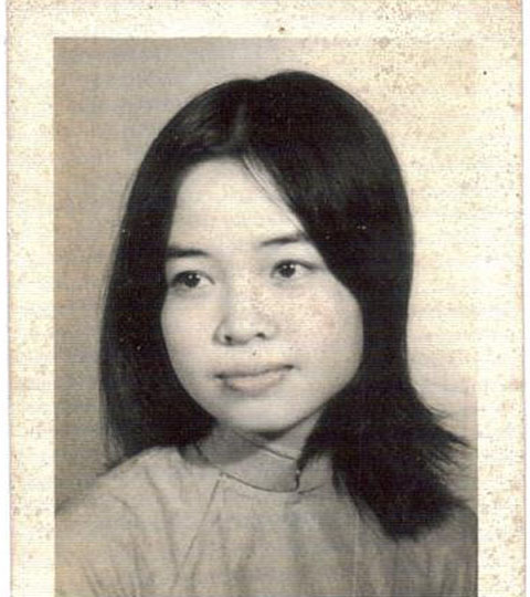 The author's mother. Courtesy of Drew Pham