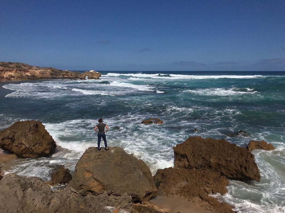 Let the Waves Make Me - Liz O'Herrin Lee finds peace in an unknown future in the presence of Australia's living memorial built by and for the country's World War I veterans.Read her story.