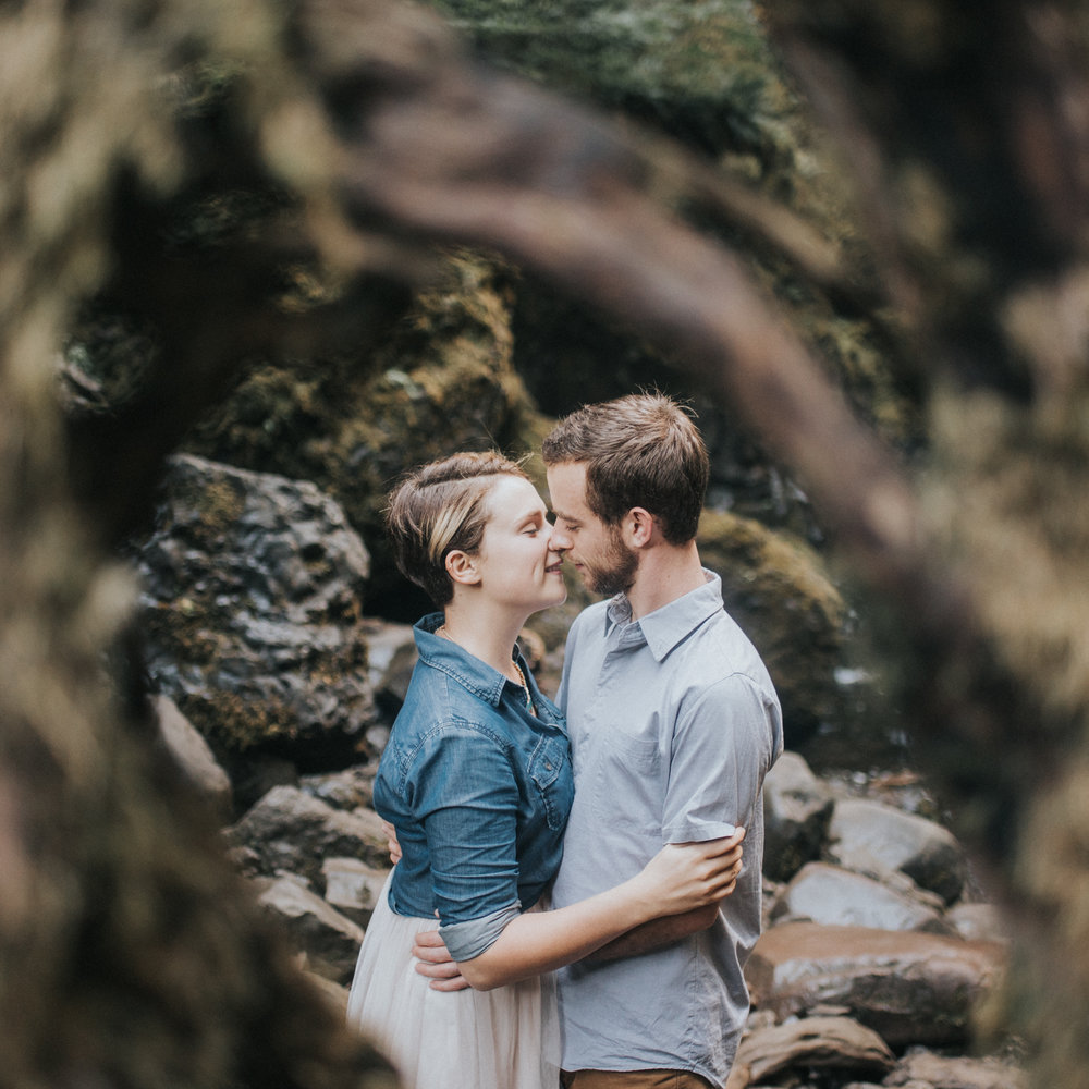 Columbia River Gorge Engagement Shoot | Kai Hayashi Photography