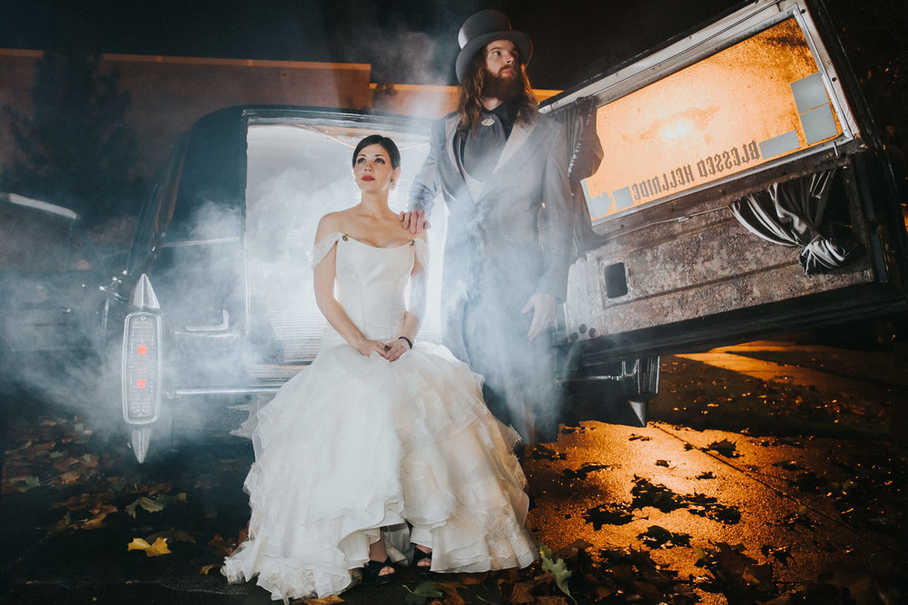 Halloween Wedding Photography | Kai Hayashi Photography