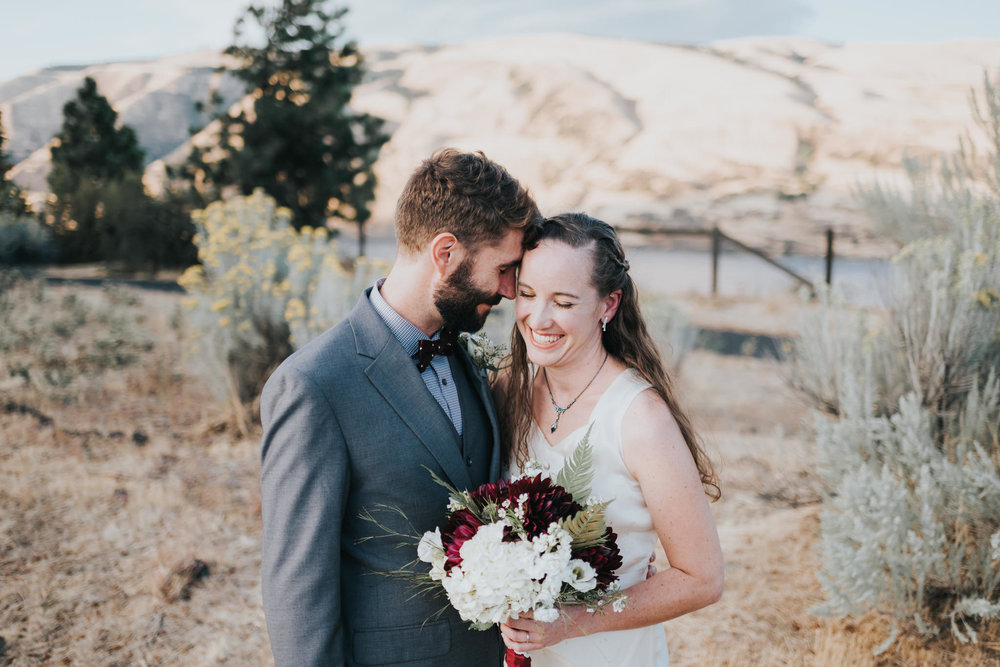 Columbia Gorge Discovery Center Wedding Photography | Kai Hayashi Photography