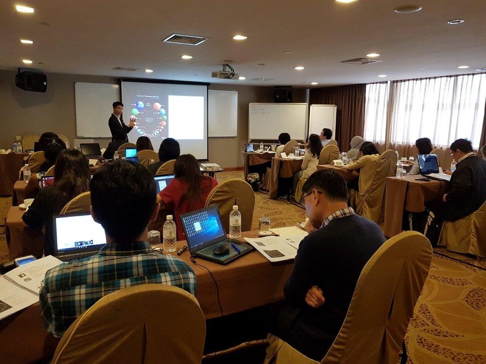 Mastering Social Media and Digital Communications Workshop - Dec 2018
