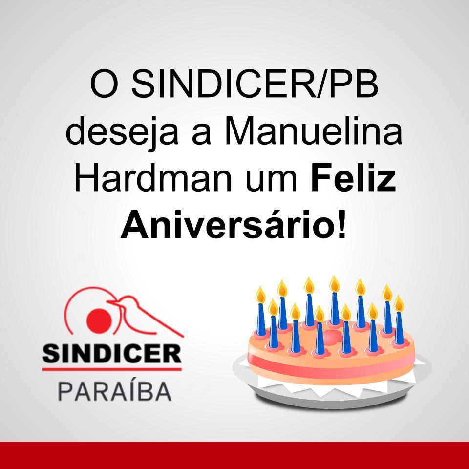 Manuelina Hardman é atual diretora do Sindicer e já presidiu a entidade! Desejamos um ótimo dia, com muitas alegrias!