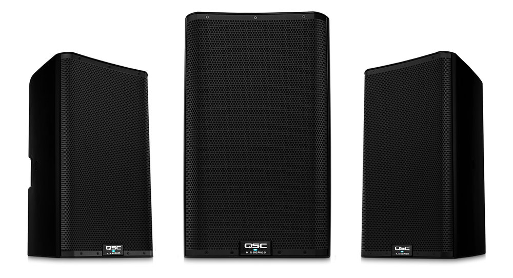 We feature QSC Speakers
