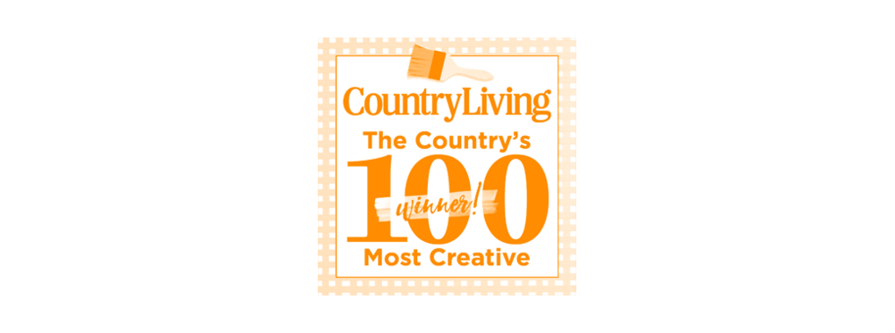 Country Living 100 Most Creative - 2018