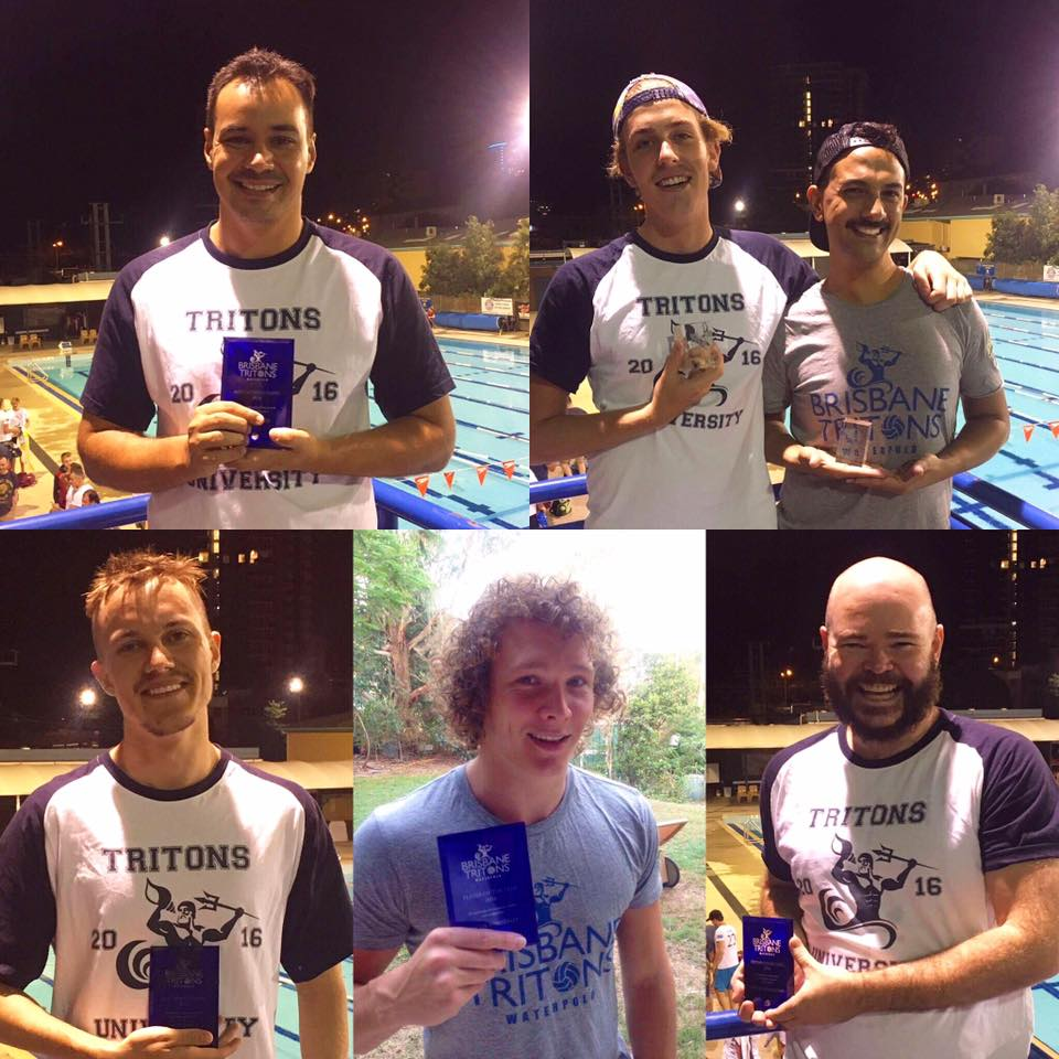 Awards night - 2016 - In December 2016, we had our first Christmas party and Awards NightAwards included:Most improved - Jacob BVolunteers of the year - Abe & GraysonPlayer of the year - Jacob KClub Person of the year - Jeremy Conch Shell (Spirit of Tritons) - Ash