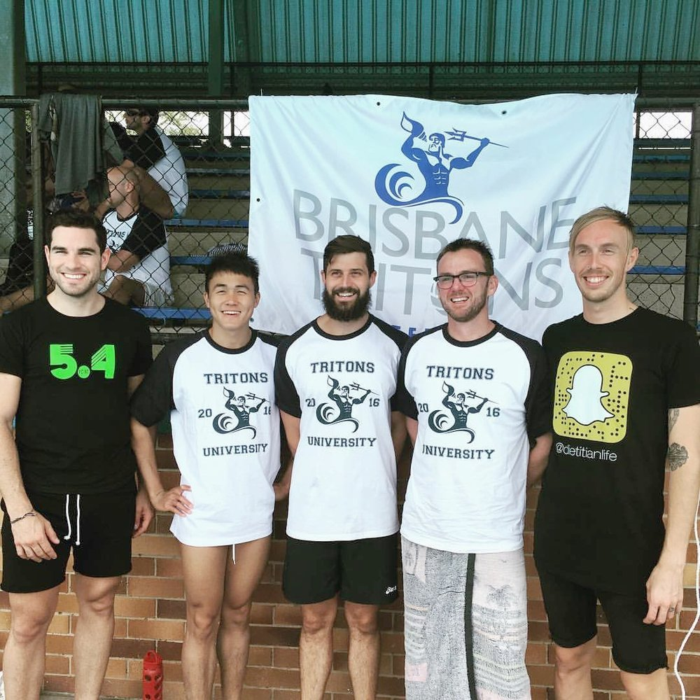 Tritons University 2016 - In November 2016, members from the Barracudas National League team ran a weekend long workshop for the Tritons, featuring support from Olympians, National League players, Brisbane Barracudas, and international sporting committees.