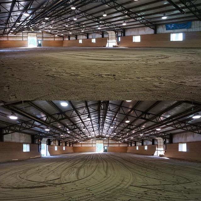 Horses and riders, our indoor arena is ready for you!