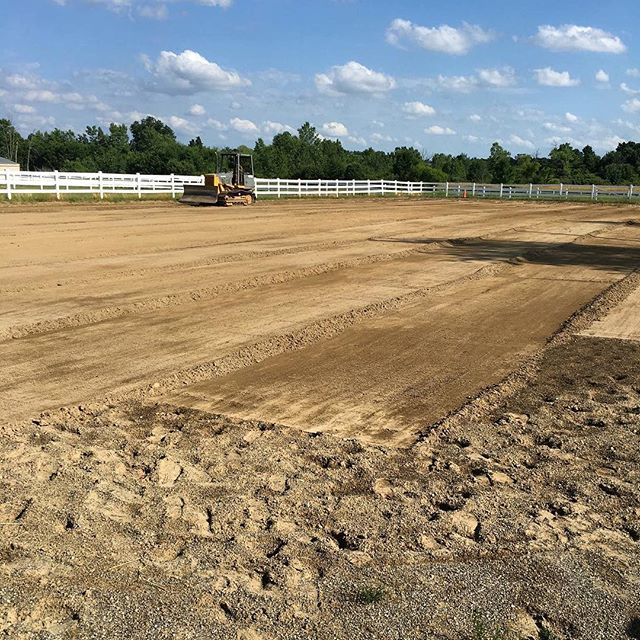 Time for the outdoor arena. We're making it EVEN BETTER!!