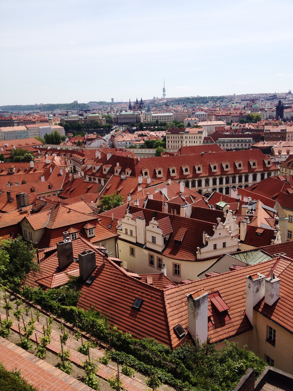 Overlook old town