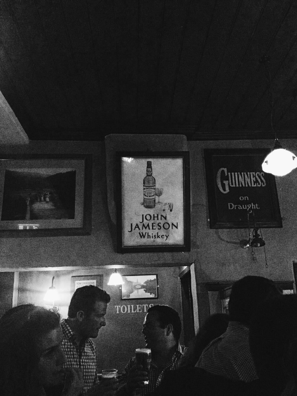Jameson & Guiness