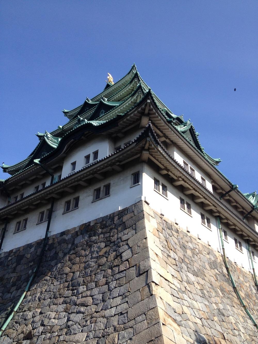 日本三大名城之一 名古屋城