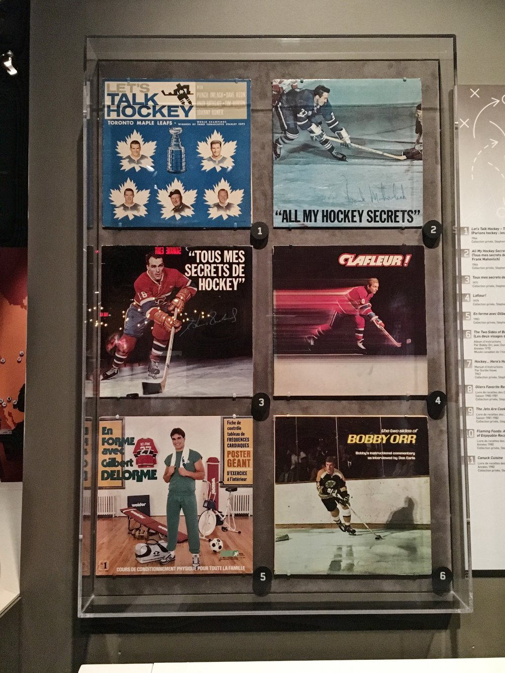 Hockey = Canada