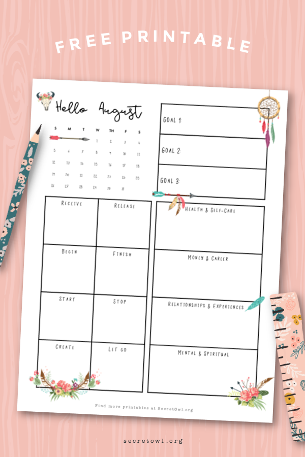 Hello August! A new month already. I know at this time of year a lot of people are starting to feel like they're not as far along with their goals as they'd like to be. Is that you? How do you feel about your 2018 so far? Can you even remember what your goals even are?