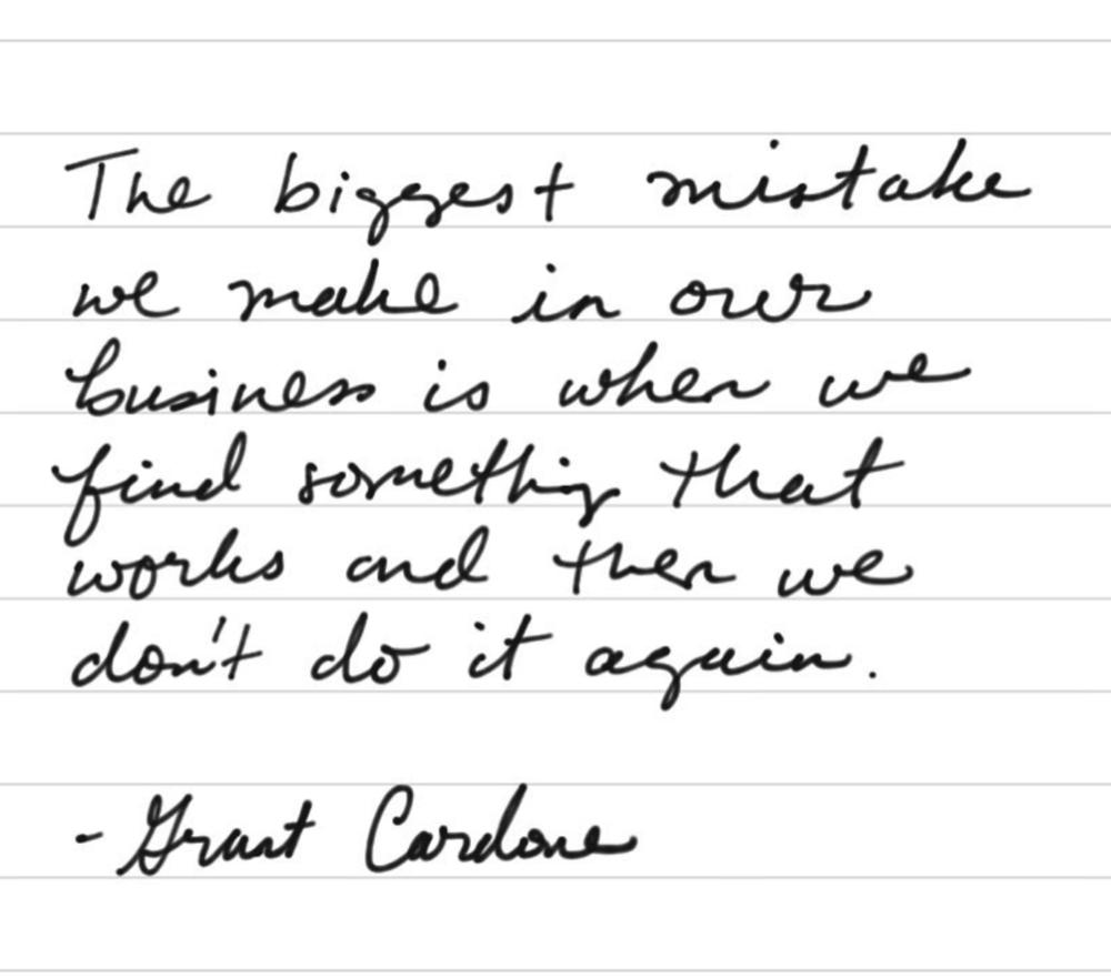 Grant Cardon Quote
