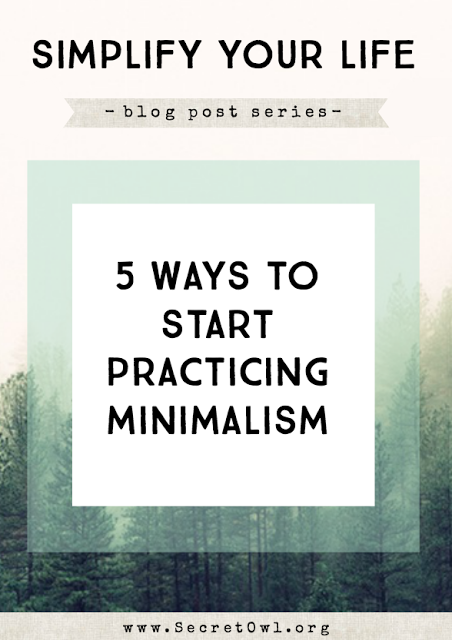 Here are 5 ways to start practicing minimalism that you may not have heard of before.