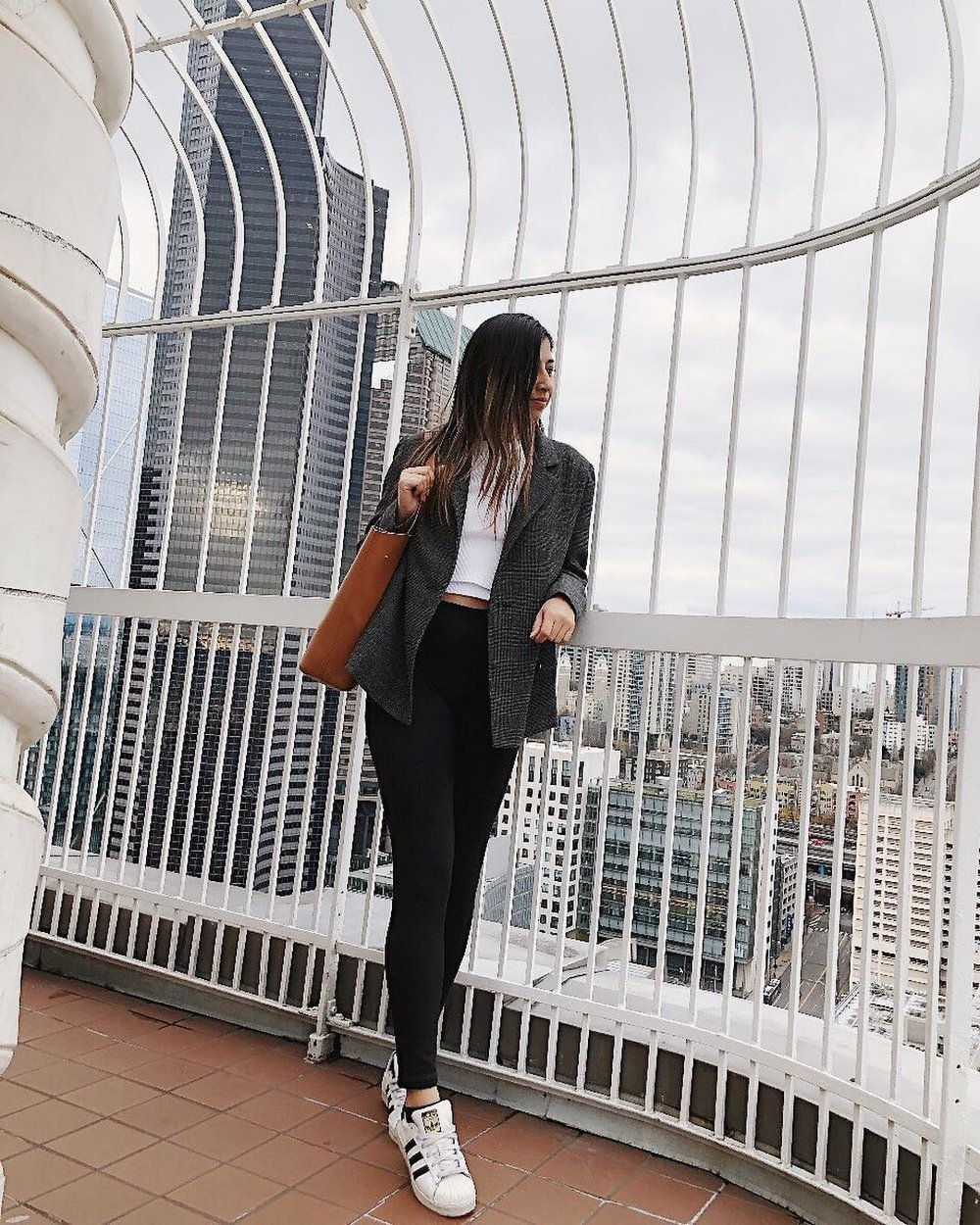 Dressing Up Adidas Classics with a UO Blazer — Love ee4ec0453006f