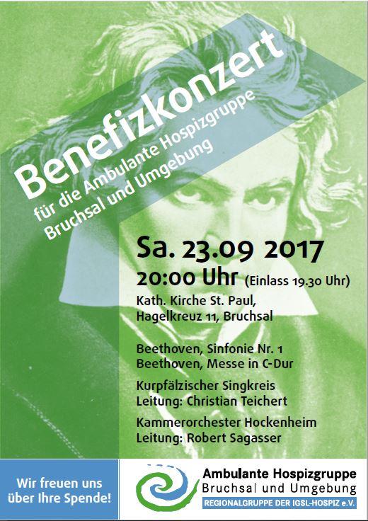 """Benefizkonzert - geändertes ProgrammWolfgang Amadeus Mozart (1756–1791):Ballettmusik KV 367 aus der Oper """"Idomeneo""""Georg Philipp Telemann (1681–1767):Konzert für Bratsche und Orchester in G-DurLeroy Anderson (1908–1975)""""A Trumpeter's Lullaby""""Ludwig van Beethoven (1770–1827)Sinfonie Nr. 1 in C-Dur op. 2Solisten: Roland Bierwald und Valentin Rothbauer"""
