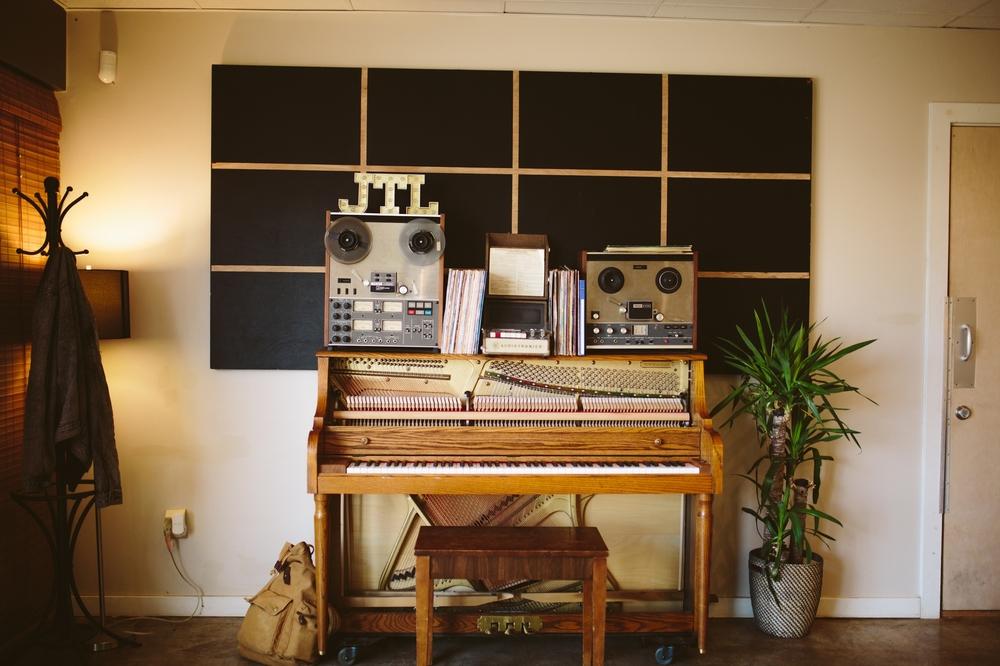 Recording Studio Piano