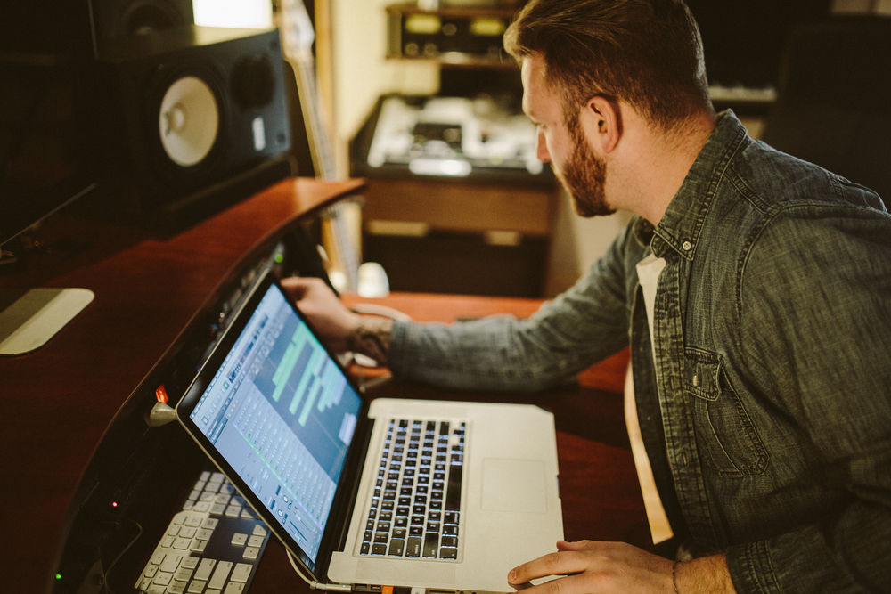 Zane Callister JTL Group Recording Studio