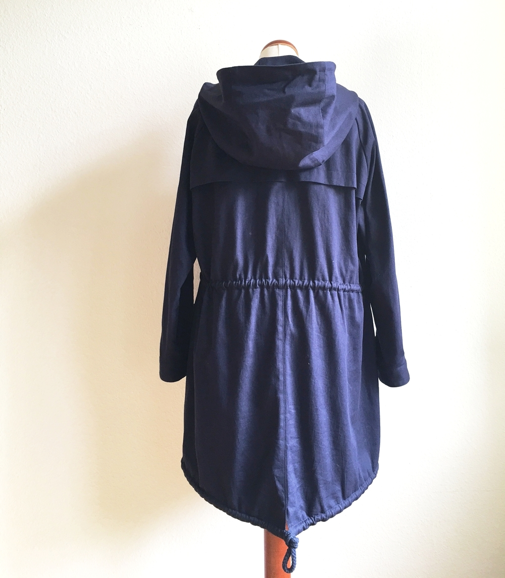 Oversized Parka - Back