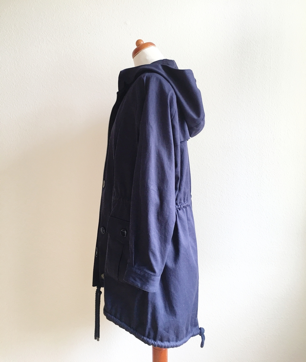 Oversized Parka - Side