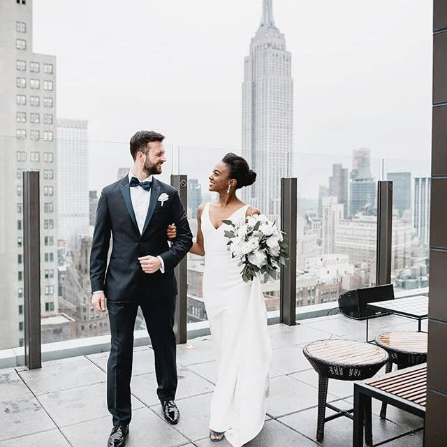 Dream big, don't be afraid of failing, set you goals high and work hard to achieve them.  Thanks at @joey.zazaaa & Florian for bringing me to New York with you. There are no words to describe how greatful i am to have been able to capture your love and all the kindness surrounding your families and friends ❤💎🇺🇸🇦🇹👰 (NY wedding part 1)  #newyork #newyorkwedding #ny #nywedding #nyphotography #sofitel #skylark #weddingvenue #wedding #skylark #manhatten #manhattenwedding #empirestatebuilding #love #marriage #dreambig #workhard #destinationweddingphotographer #destinationsedding