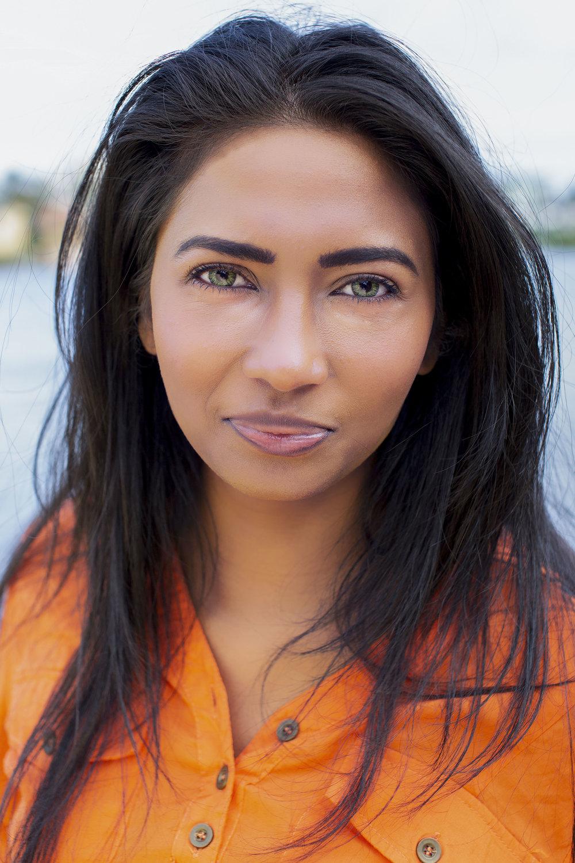Stunning Headshots. - Pictured: Reshael Sirputh