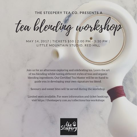 Mother's Day gift idea! Forget High Tea when you could learn the art of tea blending! Hosted by The Steepery Tea Co. at the studio on Mother's Day. @thesteeperytea . . . #tea #teablending #brisbaneevent #mothersday #mothersdaygift #brisbaneworkshop