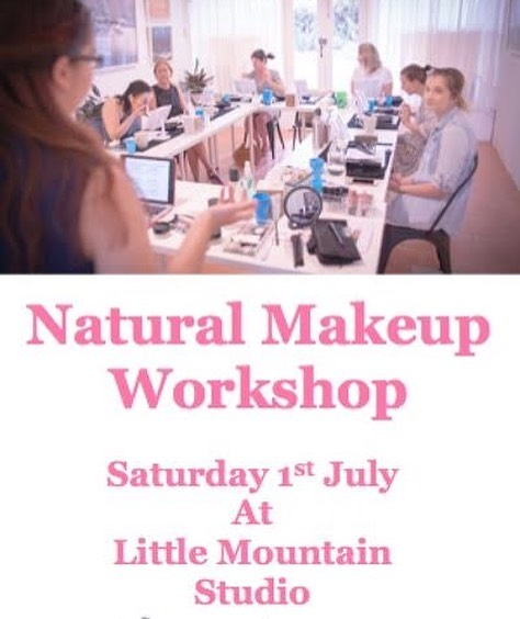 If you are self taught at doing your own make-up, like me, than this workshop is for you! I've probably been doing it all wrong for years! This workshop is hands on and heaps of fun. Hosted by the talented Amy @bluebird_natural_beauty. Head to the Bluebird Natural Beauty website for more info.
